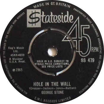 Hole In The Wall – George Stone