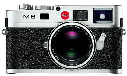 Leica M8 rangefinder camera