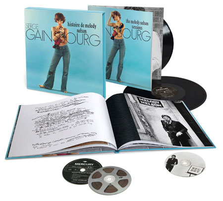 Coming soon: Serge Gainsbourg's Histoire De Melody Nelson super deluxe box set