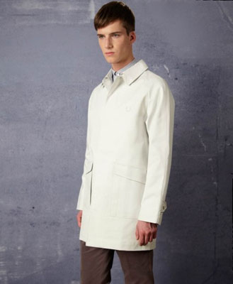 Fred Perry Bonded Raincoat