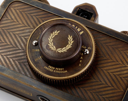 Lomography x Fred Perry 60th Anniversary La Sardina Camera