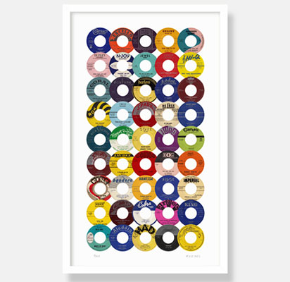 Main Artery x Jazzman Records R&B 45s limited edition print