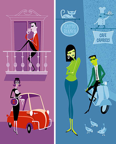 The art of Josh Agle aka Shag