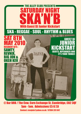 Feature: Ska 'n' B (Cambridge)