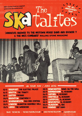 The Skatalites 48th anniversary UK tour