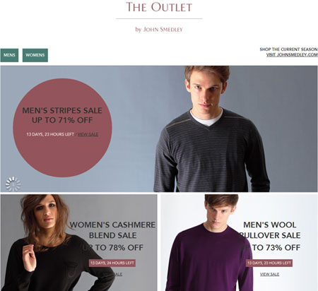 The Outlet by John Smedley