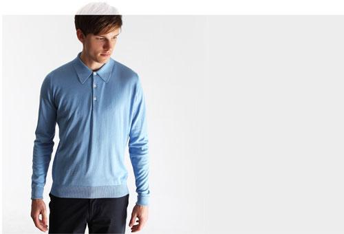 John Smedley Dorset polo shirt