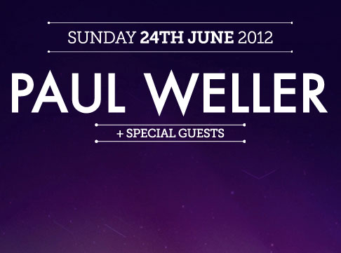 Paul Weller at Jodrell Bank