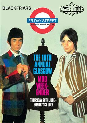 10th annual Glasgow Mod Weekender