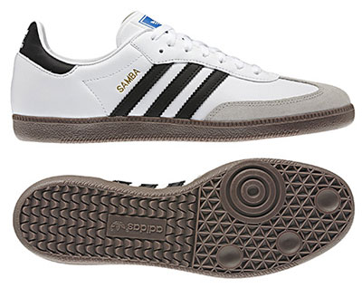 Adidas Samba trainers reissue in white