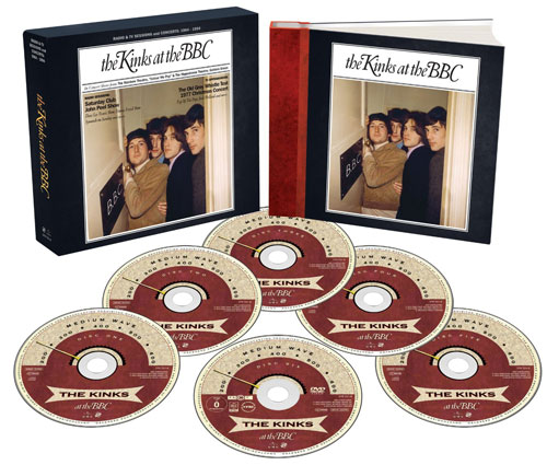 Coming soon: The Kinks At The BBC Box Set