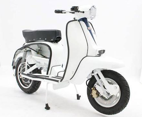 EBretta – the electric Lambretta with vintage looks