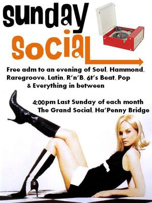 The Sunday Social in Dublin – a monthly mod gathering