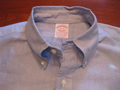 Brooks Brothers button-down shirt