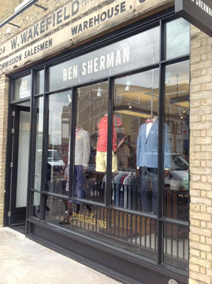 Ben Sherman opens flagship East London store