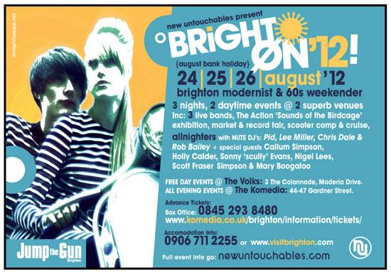 New Untouchables Brighton weekender 2012