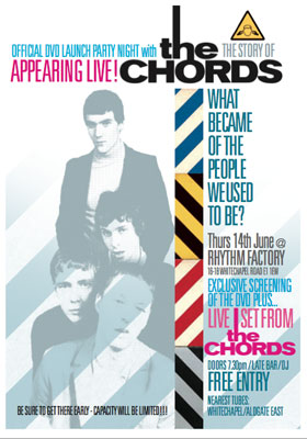 The Chords DVD launch at The Rhythm Factory, London