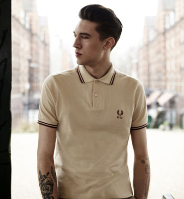 Fred Perry reissues the original 1952 polo shirt