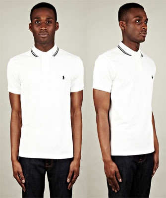 Polo Ralph Lauren Tipped Collar Custom Polo Shirts