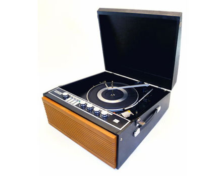 1960s Decca Decclian portable record player