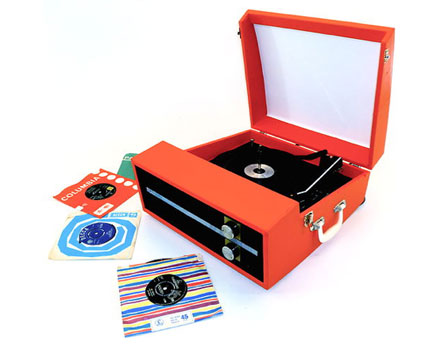 1960s Fidelity portable record player