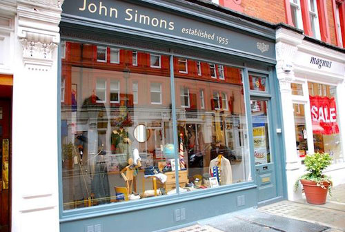 John Simons in London