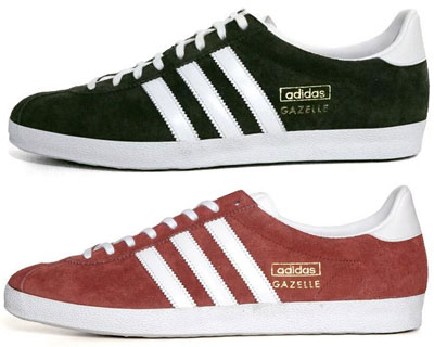 New reissues of the Adidas Gazelle OG trainers