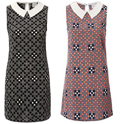 1960s-style G21 shift dresses by George at Asda