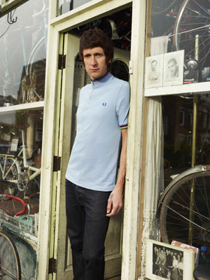 Fred Perry x Bradley Wiggins cycling jersey range