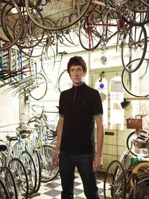 Fred Perry x Bradley Wiggins cycling jersey range