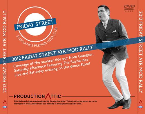 2012 Friday Street Mod Rally To Ayr DVD