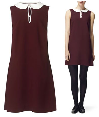 Victoria 1960s-style shift dress at Jaeger