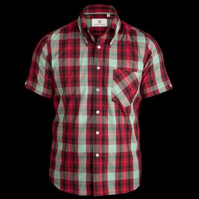 Mikkel Rude window pane check shirt