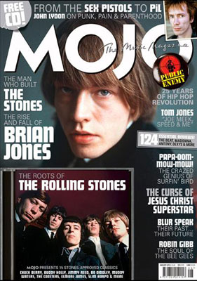 New Mojo magazine - with The Roots of the Rolling Stones CD