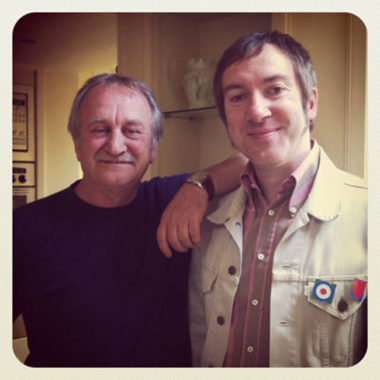 Mark Raison meets Dougal Butler - Keith Moon's assistant