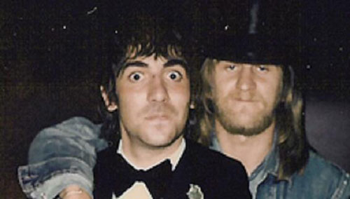 Keith Moon and Dougal Butler