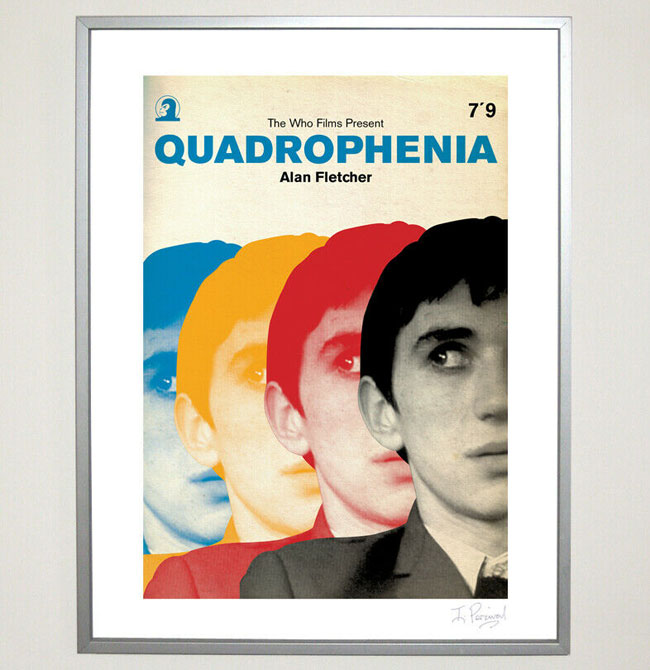 Limited edition Quadrophenia print by Piper Gates Design