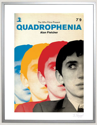 Limited edition Quadrophenia poster by Piper Gates Design