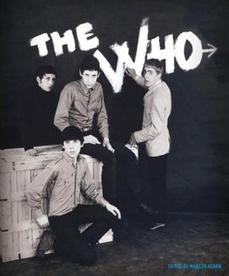 The Who photo book by Marcus Hearn