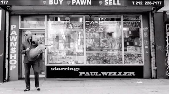 Video: Paul Weller and Miles Kane for John Varvatos