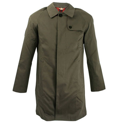 Limited edition Baracuta G23 Ramsey raincoat reissued in two colours