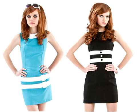 Marmalade 1960s-style dresses discounted at Fab