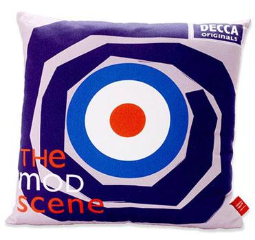 Michelle Mason Mod Scene cushions