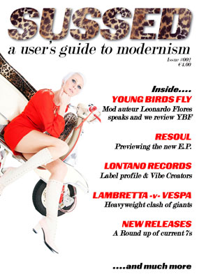 Second edition of Sussed mod fanzine now on sale