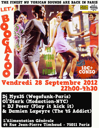 Let's Boogaloo Special Edition in Paris