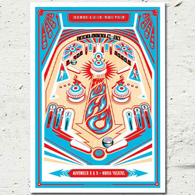 The Who limited edition poster by Kii Arens