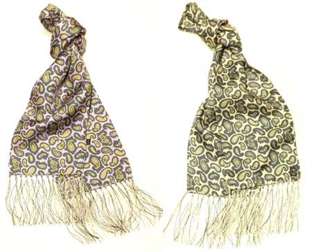 peckham rye paisley silk scarves modculture