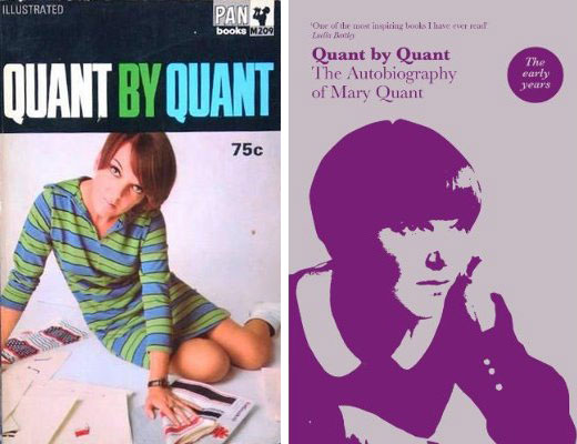1960s Mary Quant autobiography Quant By Quant reissued by V&A