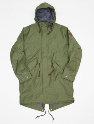 Aigle – high-end fishtail parkas