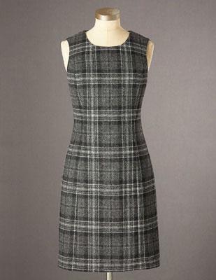 Boden Sixties Brit tweed shift dresses